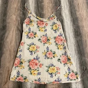 F21 Floral Cowl Neck Dress NWT